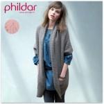 modèle gratuit tricot manteau femme