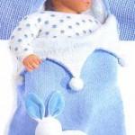 modèle gratuit tricot nid d'ange