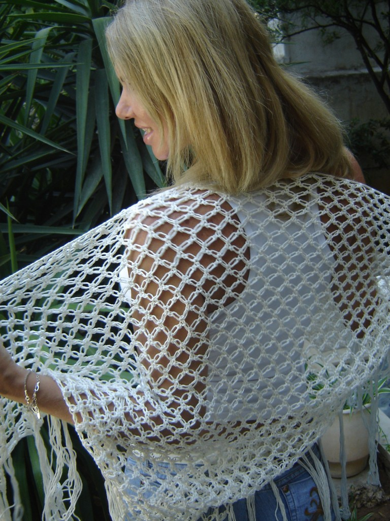 Patron crochet gratuit d butant chale - Modele poterie pour debutant ...