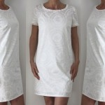 patron gratuit robe lin