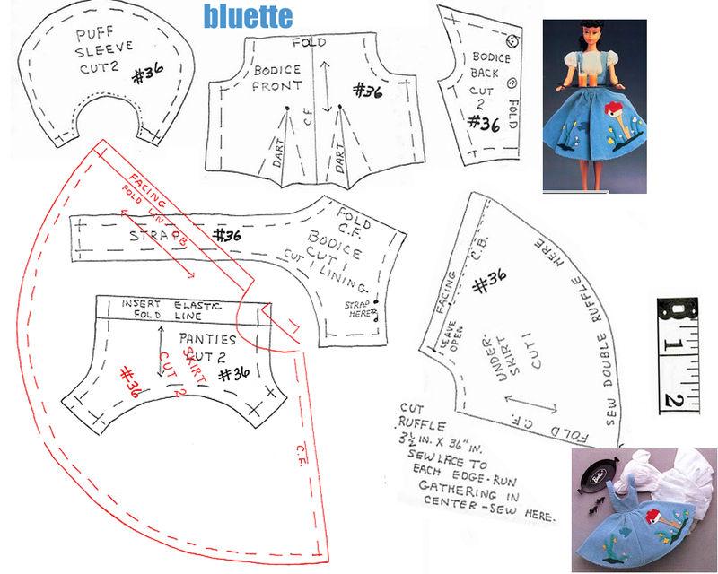 Patron Gratuit Robe Princesse Barbie Crochet