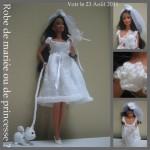 patron gratuit robe princesse barbie