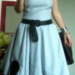 patron gratuit robe rockabilly