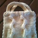 patron gratuit sac tricot