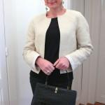 patron gratuit veste courte femme
