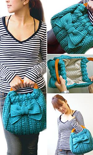 modèle gratuit crochet sac
