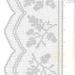 modèle gratuit rideau crochet