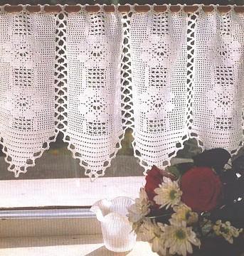 patron de rideau au crochet gratuit 28 images mod 232 le gratuit rideau d 233 co au crochet. Black Bedroom Furniture Sets. Home Design Ideas