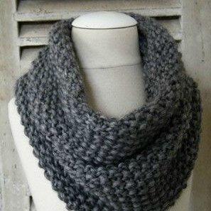 comment tricoter un foulard snood