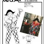 patron couture gratuit arlequin