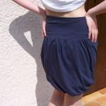 patron couture gratuit jupe boule