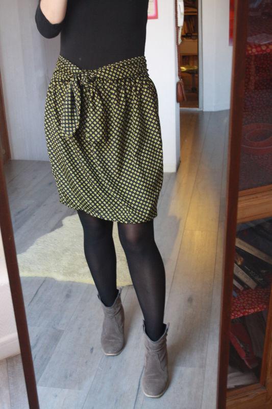 patron couture jupe boule