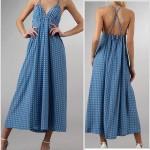 patron gratuit d'une robe longue
