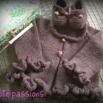 patron gratuit layette tricot