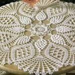 patron gratuit napperon crochet