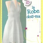 patron gratuit robe dos nu fille