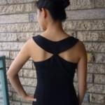 patron gratuit robe noire