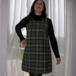 patron gratuit robe sixties