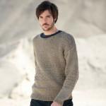 patron gratuit tricot homme
