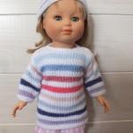 patron gratuit tricot pour poupon