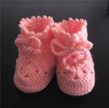 Exemple Modèle Gratuit Crochet Chausson Bébé