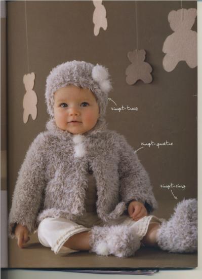 Modele tricot layette fille - Gratuit de fille ...
