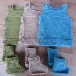 modèle gratuit tricot naissance