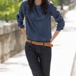 patron gratuit blouse col claudine