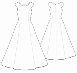 de9070c0b5b87 inspiration patron gratuit couture robe. «