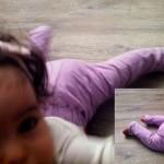 patron gratuit legging bebe