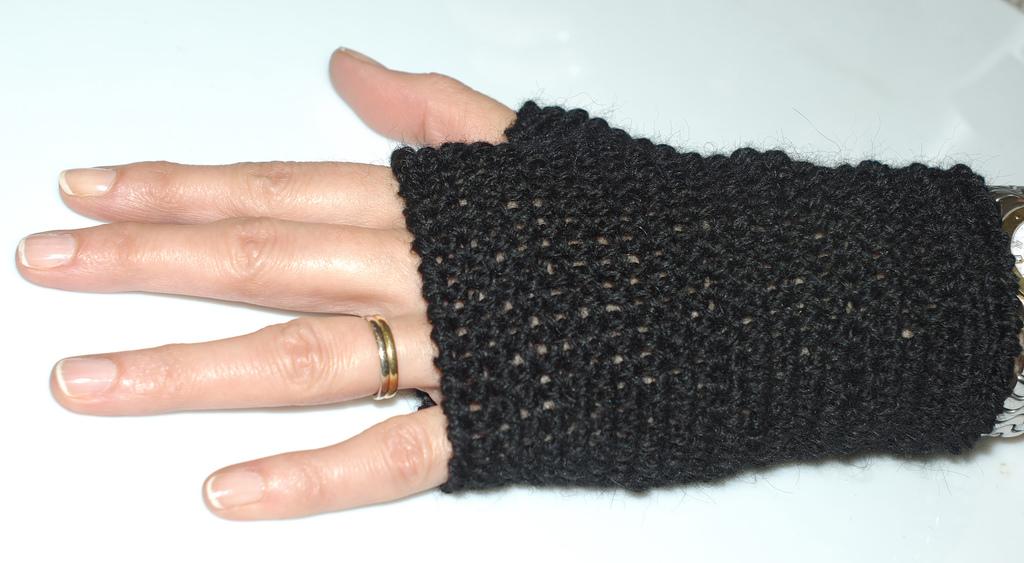 Image Patron Gratuit Mitaines Crochet