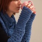 patron gratuit mitaines crochet