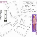 patron gratuit robe barbie