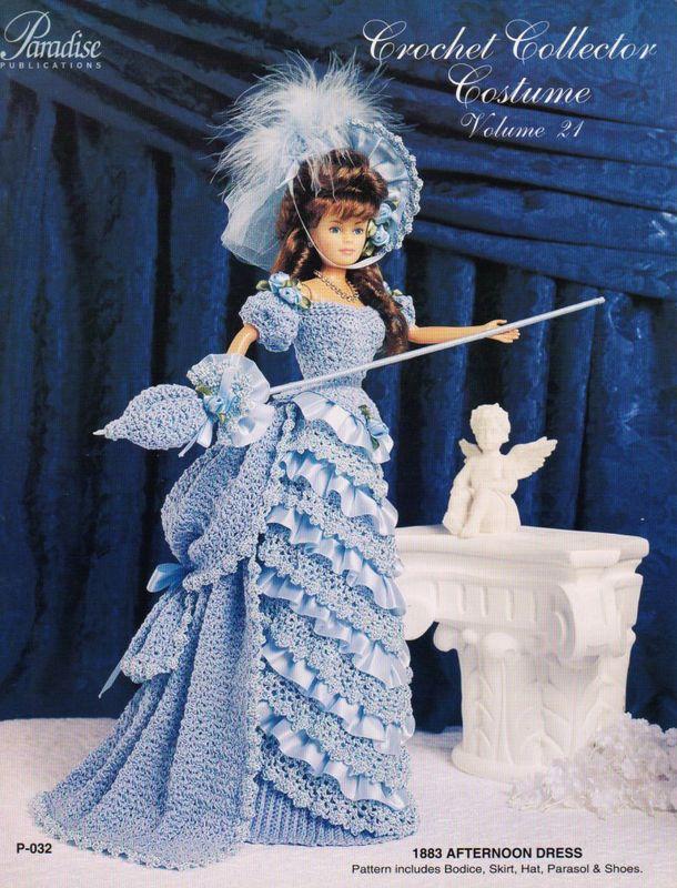 patron gratuit robe barbie au crochet