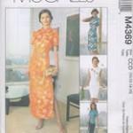 patron gratuit robe chinoise