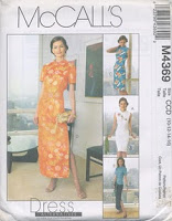 Patron robe chinoise
