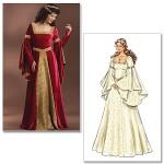 patron gratuit robe médiévale