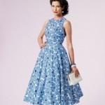patron gratuit robe vintage