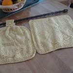 patron gratuit tricot lavette