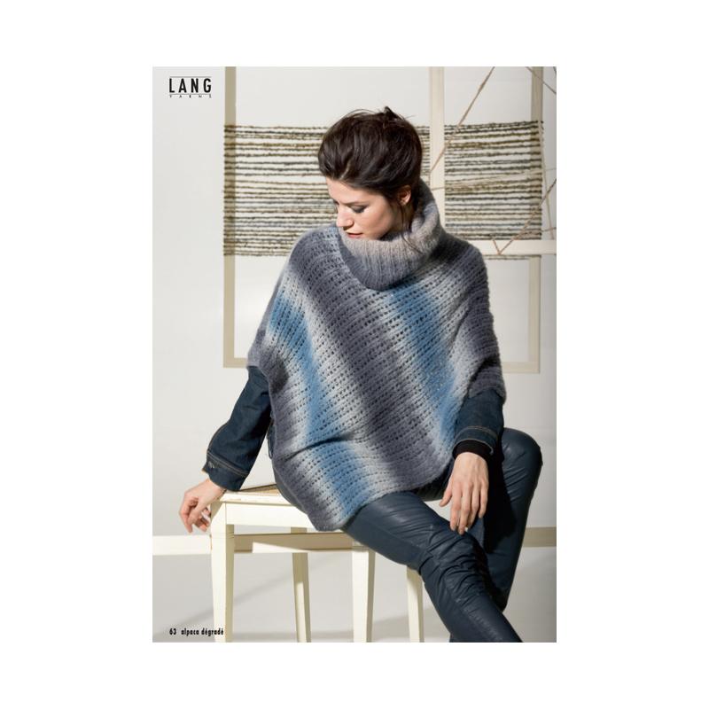Patron poncho femme - Explication pour tricoter un poncho femme ...
