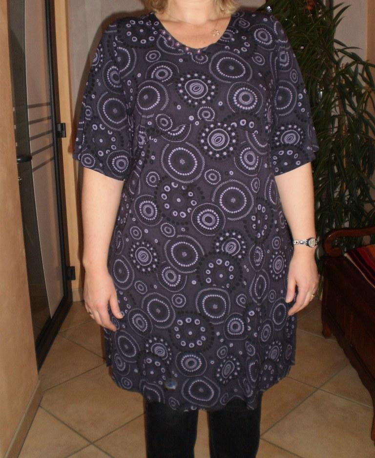 patron couture tunique grande taille