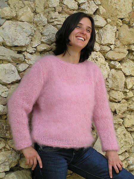 modele tricot gratuit mohair