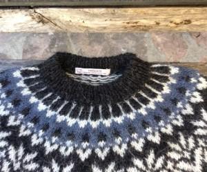 modèle gratuit tricot islandais