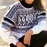 modèle gratuit tricot norvégien