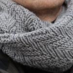 modèle tricot gratuit snood homme