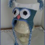 patron bonnet hibou crochet gratuit