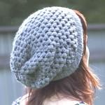 patron gratuit crochet bonnet