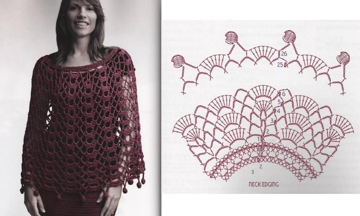 Increíble Capelet Patrón De Crochet Foto - Ideas de Patrones de ...