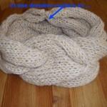 patron gratuit foulard tube