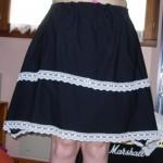 patron gratuit jupe longue taille elastique